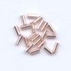 Bugles Silver lined Light Pink #2